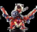Rathalos tuerto y Jinete (hombre) - Monster Hunter