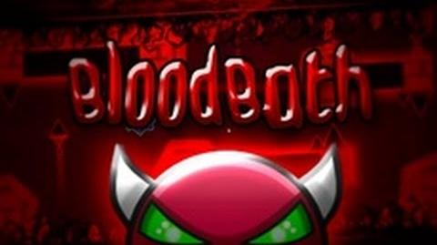 Geometry Dash - Bloodbath (Extreme Demon) - By- Me and many others! (Verified On Stream)