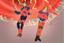 Brian Braddock (Earth-TRN562) and Brian Falsworth (Earth-TRN562) from Marvel Avengers Academy 001.png