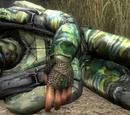 Раненый военный с Болот