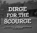 Dirge for the Scourge