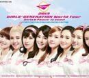 3rd Headlining Tour: Girls and Peace World Tour