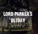 Lord Parker's 'Oliday