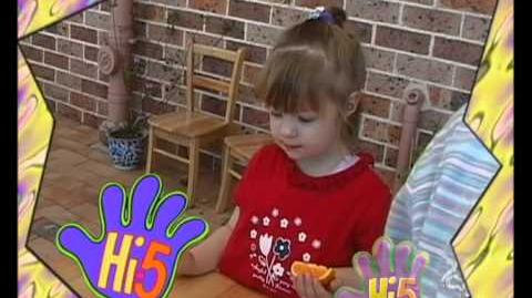 Hi-5 Series 1, Episode 34 (Favourites and feelings)