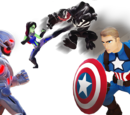 Marvel Battlegrounds Play Set