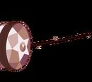 Yo-yo de Smoky Cuarzo