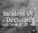 Incident of Decision