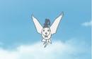Pájaro llegando al Templo Mikage (01x03).png