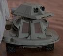 Radio-controlled dog robot
