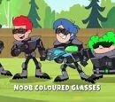 Noob Coloured Glasses
