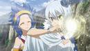 Yukino powering up Polaris.png