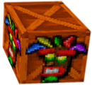 Crash Bandicoot 2 Cortex Strikes Back Aku Aku Crate.png
