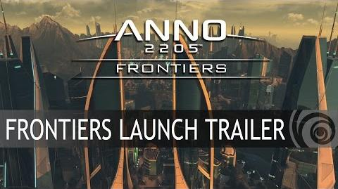 ANNO 2205 FRONTIERS DLC LAUNCH TRAILER DE