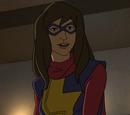Kamala Khan(Ms. Marvel)