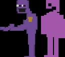 Фиолетовый человек