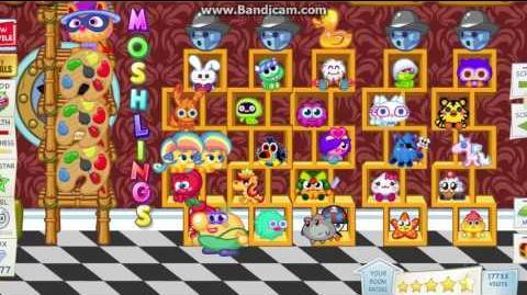 Moshi Monsters - Afroud ingame