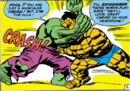 Bruce Banner (Earth-616) and Benjamin Grimm from Fantastic Four Vol 1 25 0001.jpg