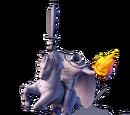 Headless Horseman Statue