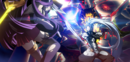 Hakumen (Centralfiction, arcade mode illustration, 3).png