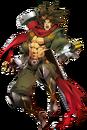 Bang Shishigami (Centralfiction, Character Select Artwork).png