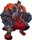 Iron Tager (Centralfiction, Character Select Artwork).png