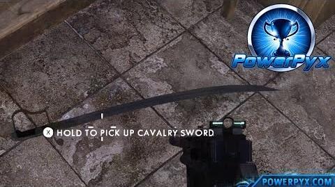 Battlefield 1 - Mightier than the shovel Trophy Achievement Guide (Hidden Cavalry Sword Location)