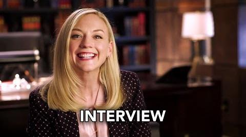 "Conviction (ABC) ""Emily Kinney"" Interview HD"