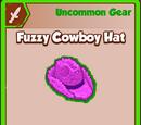 Fuzzy Cowboy Hat