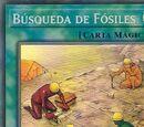 Búsqueda de Fósiles