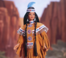 Native American Barbie Doll (18558)