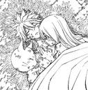 Lucy réchauffe le corps de Natsu.png