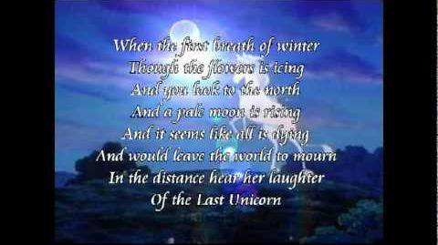 Das letzte Einhorn - The last Unicorn ( Offical Theme Song )