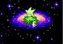 Ristar - The Shooting Star (Japan).Introdução Oruto, casa de Ristar, brilho.png