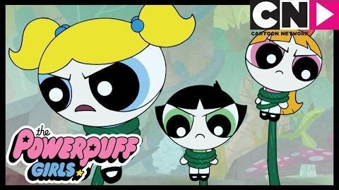 The Powerpuff Girls Escaping Monster Island Cartoon Network