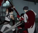 Battle Pages/Team RNJR and Qrow vs. Tyrian