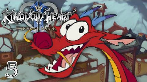BE A MAN - Let's Play - Kingdom Hearts 2 Final Mix HD - 5 - Walkthrough Playthrough