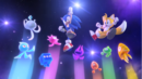 Sonic, Tails and Wisps (Sonic Colors Opening Wii).png