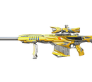 Barrett M82A1-Iron Shark Noble Gold