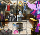 Fanfic Ace Attorney Vs My Little Pony Caos y Discordia
