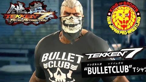 鉄拳 TEKKEN 7 FR - NJPW Trailer 2 - Bullet Club Shirts & Special King Rage Art Confirmed!