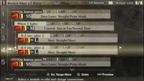God Eater Resurrection- Blast Bullets - Rocket-Shot x2