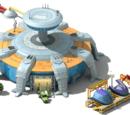 Spaceship Crew Compartment Plant