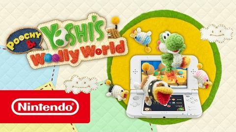 Poochy & Yoshi's Woolly World – Tráiler de lanzamiento (Nintendo 3DS)-0