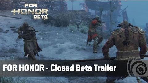 FOR HONOR - TRAILER BETA CERRADA