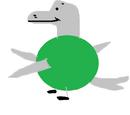 Dippy dolphin