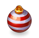 Asset Red and White Christmas Tree Bauble.png