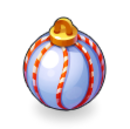 Asset White Christmas Tree Bauble.png