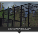 Black Chainlink Aviary (Zeta-Designs)