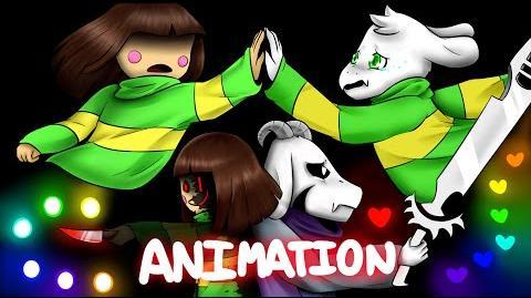 Continue - Undertale Animation (Glitchtale 5 - Season 1 Finale)