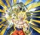 Overheating Super Power Super Saiyan Goku